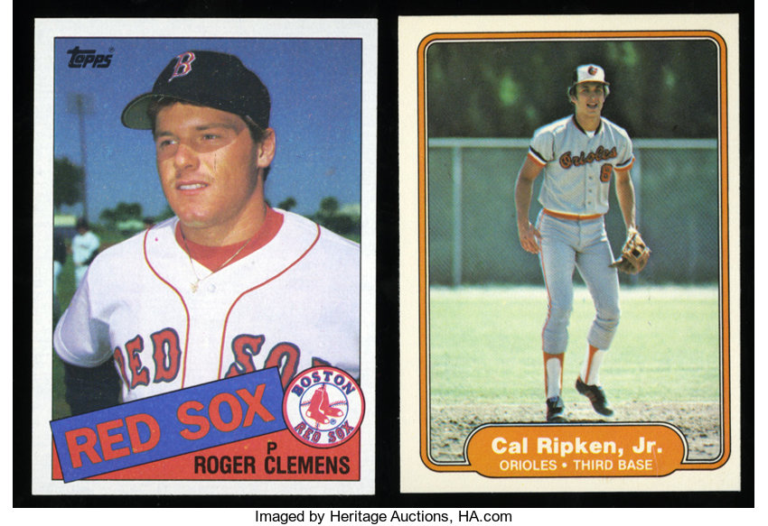 1982 1985 Baseball Rookie Card Collection 2 Total 2