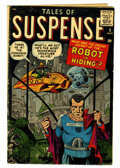 Silver Age (1956-1969):Science Fiction, Tales of Suspense #2 (Marvel, 1959) Condition: GD....