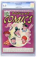 Platinum Age (1897-1937):Miscellaneous, Popular Comics #4 Lost Valley pedigree (Dell, 1936) CGC FN 6.0Cream to off-white pages....