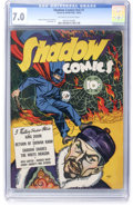 Golden Age (1938-1955):Crime, Shadow Comics V2#7 (Street & Smith, 1942) CGC FN/VF 7.0 Off-white to white pages....