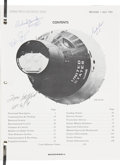 Autographs:Celebrities, Gemini 5 Press Reference Book Originally from the Personal Collection of Mission Commander Gordon Cooper, Signed by Four Gemin...