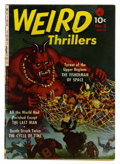 Golden Age (1938-1955):Horror, Weird Thrillers #2 (Ziff-Davis, 1951) Condition: GD+....