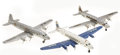 Antiques:Toys, Lot of Three Marx Pressed Steel Airliners.... (Total: 3 Items)