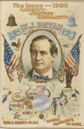 "Political:Posters & Broadsides (1896-present), William Jennings Bryan: The Iconic ""Bryan Octopus"" Poster from the1900 Election...."