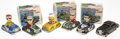 Antiques:Toys, Lot of Six Friction Toy Automobiles.... (Total: 6 Items)