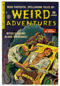 Golden Age (1938-1955):Horror, Weird Adventures #3 (P.L. Publishing Co., 1951) Condition:FN/VF....