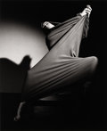 Photographs, BARBARA MORGAN (American, 1900-1992). Martha Graham, Lamentation, 1935. Gelatin silver, circa 1980. Paper: 19-3/4 x 15-3...