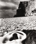 Photography :20th Century , BILL BRANDT (British, 1904-1983). Ear in Landscape, 1957. Gelatin silver, printed before 1968. 13-3/4 x 11-1/4 inches (3...