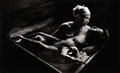 Photography :20th Century , W. EUGENE SMITH (American, 1918-1978). Tomoku Uemura in Her Bath, 1972. Gelatin silver, 1970s. Paper: 15-1/2 x 22 inches...