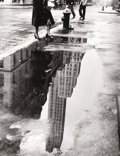Photographs, BEDRICH GRUNZWEIG (American, b. 1910). April Shower, New York, 1951. Gelatin silver, printed later. Paper: 14 x 11 inche...