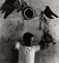 Photographs, RALPH EUGENE MEATYARD (American, 1925-1972). Child as Bird, 1960. Gelatin silver, printed later. Paper: 8 x 10 inches (2...