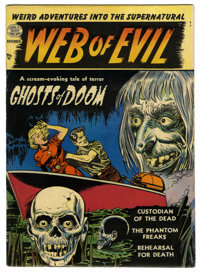 Web of Evil #1 (Quality, 1952) Condition: FN+