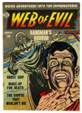 Golden Age (1938-1955):Horror, Web of Evil #2 (Quality, 1952) Condition: VG+....
