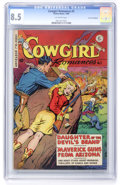 Golden Age (1938-1955):Romance, Cowgirl Romances #3 Cosmic Aeroplane pedigree (Fiction House, 1950) CGC VF+ 8.5 Off-white pages....