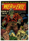 Golden Age (1938-1955):Horror, Web of Evil #19 Circle 8 pedigree (Quality, 1954) Condition:FN/VF....