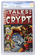 Golden Age (1938-1955):Horror, Tales From the Crypt #35 (EC, 1953) CGC FN/VF 7.0 Cream tooff-white pages....