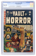 Golden Age (1938-1955):Horror, Vault of Horror #30 (EC, 1953) CGC FN- 5.5 Off-white to whitepages....