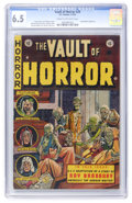 Golden Age (1938-1955):Horror, Vault of Horror #29 (EC, 1953) CGC FN+ 6.5 Cream to off-whitepages....