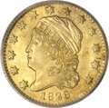 Early Quarter Eagles, 1826/6 $2 1/2 --Cleaned--ICG. MS60 Details....