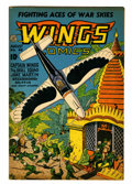 Golden Age (1938-1955):War, Wings Comics #48 (Fiction House, 1944) Condition: FN-....
