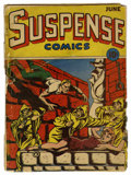 Golden Age (1938-1955):Horror, Suspense Comics #4 (Continental Magazines, 1944) Condition:FR/GD....