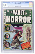 Golden Age (1938-1955):Horror, Vault of Horror #22 (EC, 1951) CGC VG/FN 5.0 Cream to off-whitepages....
