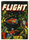 Golden Age (1938-1955):Science Fiction, Captain Flight #11 (Four Star, 1947) Condition: Apparent VG-....