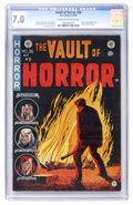 Golden Age (1938-1955):Horror, Vault of Horror #36 (EC, 1954) CGC FN/VF 7.0 Cream to off-whitepages....