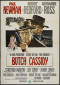 "Movie Posters:Western, Butch Cassidy and the Sundance Kid (20th Century Fox, 1969).Italian 2 - Folio (39"" X 55""). Western.. ..."