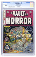 Golden Age (1938-1955):Horror, Vault of Horror #27 (EC, 1952) CGC FN/VF 7.0 Off-white to whitepages....