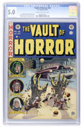 Golden Age (1938-1955):Horror, Vault of Horror #26 (EC, 1952) CGC VG/FN 5.0 Cream to off-whitepages....