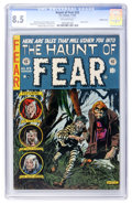 Golden Age (1938-1955):Horror, Haunt of Fear #23 Double cover (EC, 1954) CGC VF+ 8.5 Off-whitepages....