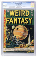Golden Age (1938-1955):Science Fiction, Weird Fantasy #17 (EC, 1953) CGC FN+ 6.5 Cream to off-whitepages....