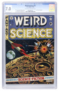 Golden Age (1938-1955):Science Fiction, Weird Science #11 (EC, 1952) CGC FN/VF 7.0 Ligh tan to off-whitepages....