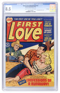 Golden Age (1938-1955):Romance, First Love Illustrated #13 File Copy (Harvey, 1951) CGC VF+ 8.5Light tan to off-white pages....