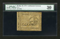 Colonial Notes:Continental Congress Issues, Continental Currency May 10, 1775 $2 PMG Very Fine 30....