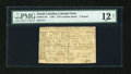 Colonial Notes:North Carolina, North Carolina 1756 - 1757 (written dates) £5 PMG Fine 12 Net....