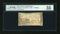 Colonial Notes:New Jersey, New Jersey December 31, 1763 15s PMG About Uncirculated 55....