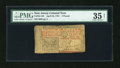 Colonial Notes:New Jersey, New Jersey April 23, 1761 £3 PMG Choice Very Fine 35 Net.. ...