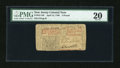 Colonial Notes:New Jersey, New Jersey April 12, 1760 £3 PMG Very Fine 20....