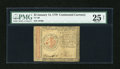 Colonial Notes:Continental Congress Issues, Continental Currency January 14, 1779 $2 PMG Very Fine 25 Net....