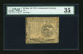 Colonial Notes:Continental Congress Issues, Continental Currency May 10, 1775 $4 PMG Choice Very Fine 35....
