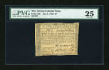 Colonial Notes:New Jersey, New Jersey June 9, 1780 $7 PMG Very Fine 25....
