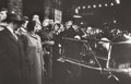 Photography :20th Century , ROBERT FRANK (American, b. 1924). Patrons Arriving at Metropolitan Opera House on Opening Night of New Season, 1954. Gel...