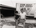 Photography :20th Century , BILL OWENS (American, b. 1938). We Moved to a Nicer House, 1970s. Gelatin silver, 1998. Paper: 11 x 14 inches (27.9 x 35...