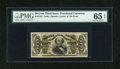 Fractional Currency:Third Issue, Fr. 1327 50c Third Issue Spinner PMG Gem Uncirculated 65 EPQ....