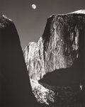 Photographs, ANSEL EASTON ADAMS (American, 1902-1984). Moon and Half Dome, Yosemite, 1960. Gelatin silver, printed no later than 1964...