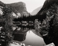 Photography :20th Century , ANSEL EASTON ADAMS (American, 1902-1984). Mirror Lake, 1937. Gelatin silver, 1970s. 7-5/8 x 9-1/2 inches (19.4 x 24.1 cm...