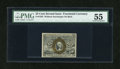 Fractional Currency:Second Issue, Fr. 1283 25c Second Issue PMG About Uncirculated 55....