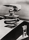 Photography :20th Century , UMBO (German, 1902-1980). Horch Hood Ornament, 1930. Gelatin silver, 1980. 8-3/4 x 6-1/2 inches (22.2 x 16.5 cm). Verso:...